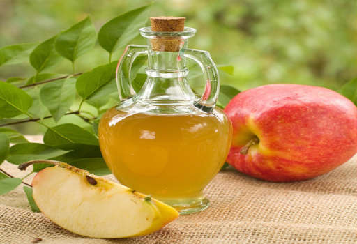Apple Cider Vinegar and Cold Water